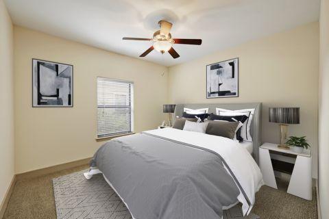Spacious Bedroom at Camden Henderson Apartments in Dallas, TX