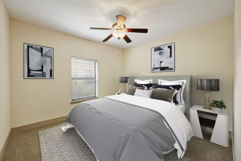Spacious Bedroom at Camden Henderson Apartments in Dallas, TX