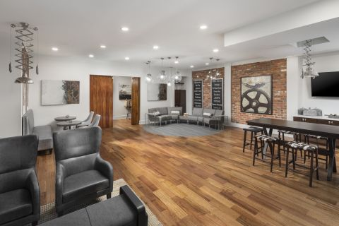 Resident Lounge at Camden Henderson Apartments in Dallas, TX