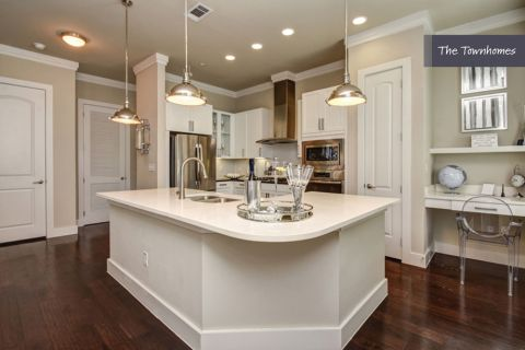 Kitchen at The Townhomes at Camden Highland Village in Houston, TX