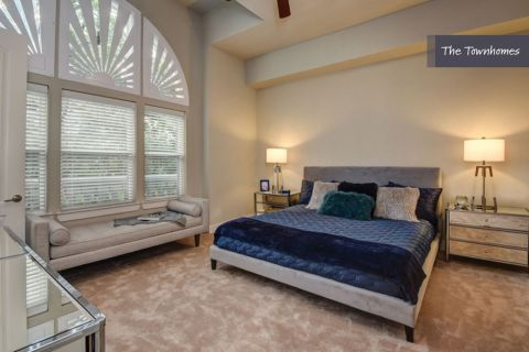 Main Bedroom at The Townhomes at Camden Highland Village in Houston, TX