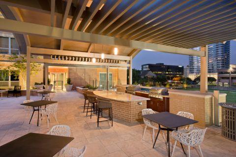 Outdoor Grills at Camden Highland Village in Houston, TX