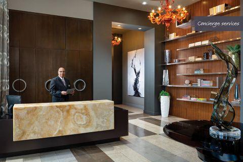 Concierge services at Camden Highland Village in Houston, TX