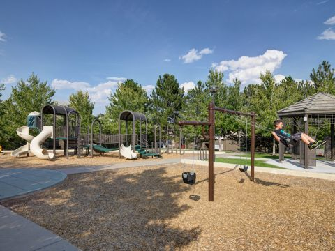 Playground at Camden Highlands Ridge Apartments in Highlands Ranch, CO