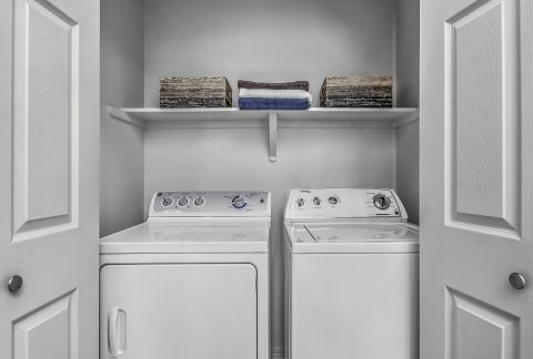 Washer and Dryer at Camden Highlands Ridge Apartments in Highlands Ranch, CO