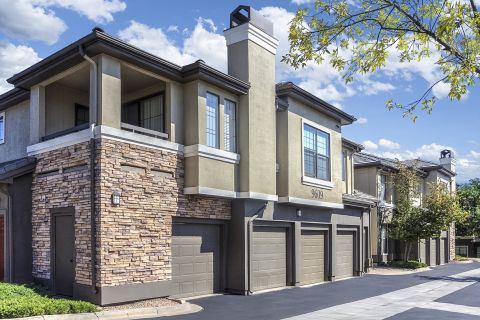 Private Garages at Camden Highlands Ridge Apartments in Highlands Ranch, CO