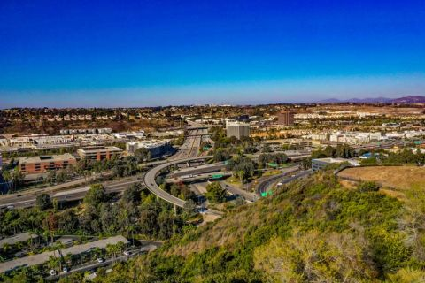 Camden Hillcrest Apartments San Diego California North View Shot of Neighborhood
