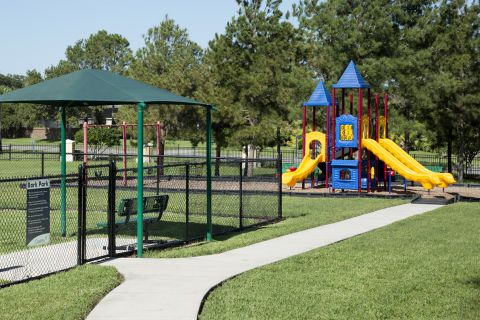 Dog Park and Playground at Camden Hunters Creek Apartments in Orlando, FL