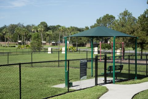 Dog Park at Camden Hunters Creek Apartments in Orlando, FL