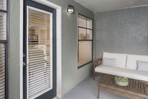 Patio or Balcony at Camden Hunters Creek Apartments in Orlando, FL
