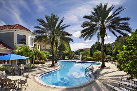 Pool at Camden Hunters Creek Apartments in Orlando, FL