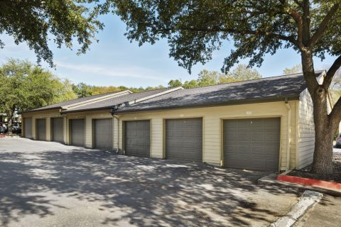 Private Garage Space For Rent at Camden Huntingdon Apartments in Austin, TX