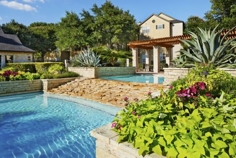 Swimming Pool at Camden Huntingdon Apartments in Austin, TX