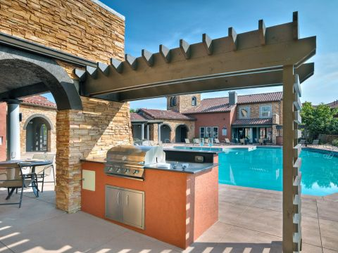 BBQ Grills at Camden Interlocken Apartments in Broomfield, CO