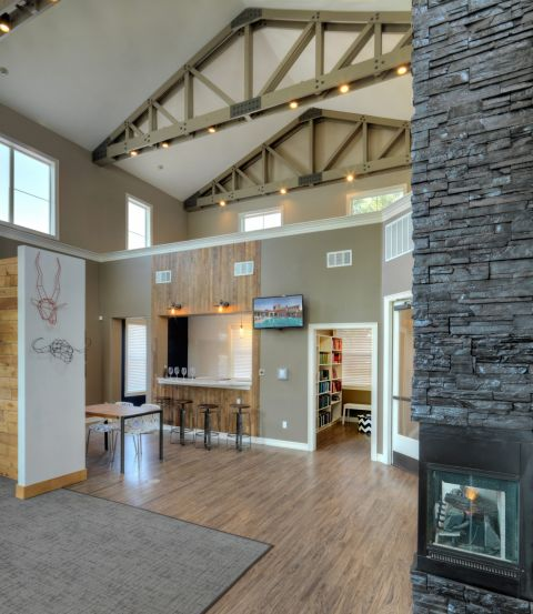 Resident Lounge at Camden Interlocken Apartments in Broomfield, CO