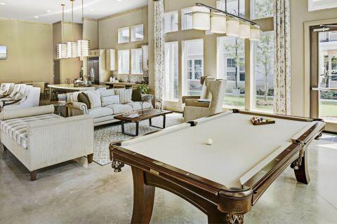Game Room at Camden La Frontera Apartments in Round Rock, TX