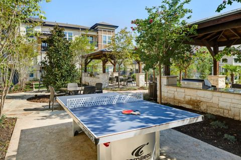 Ping Pong Table at Camden La Frontera Apartments in Round Rock, TX