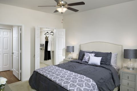 Bedroom at Camden Lago Vista Apartments in Orlando, FL