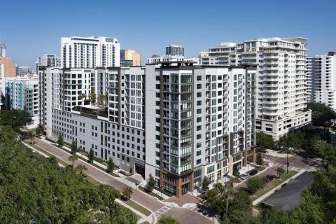 South Exposure at Camden Lake Eola Apartments in Downtown Orlando, Florida