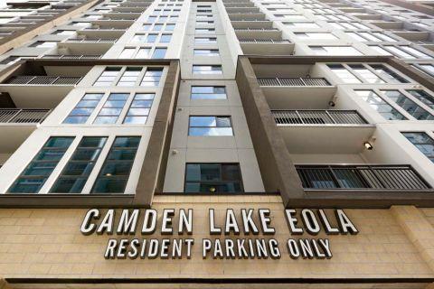 Resident Parking at Camden Lake Eola Apartments in Downtown Orlando, Florida
