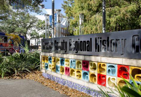 History Center near Camden Lake Eola Apartments in Downtown Orlando, Florida