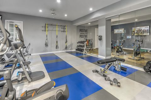 24-Hour Fitness Center at Camden Lakeway Apartments in Lakewood, CO
