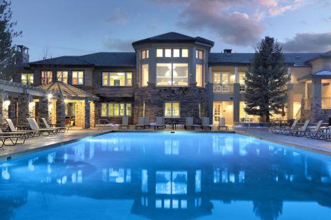 Pool at Camden Lakeway Apartments in Lakewood, CO