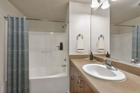 Bathroom at Camden Landmark Apartments in Ontario, CA