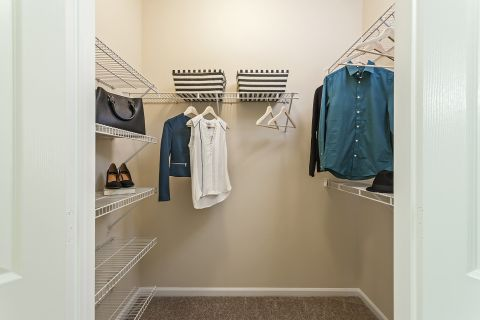 Walk-In Closet at Camden Landmark Apartments in Ontario, CA