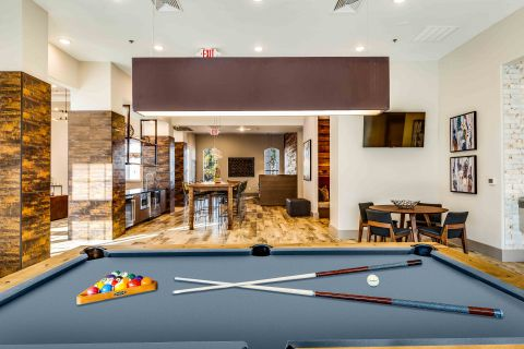 Pool Table at Camden Lansdowne Apartments in Lansdowne, VA
