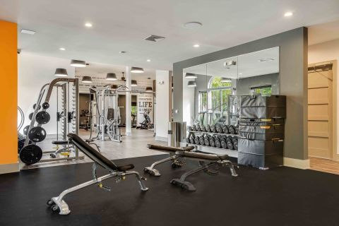 Brand New Fitness Center at Camden Lansdowne Apartments in Lansdowne, VA