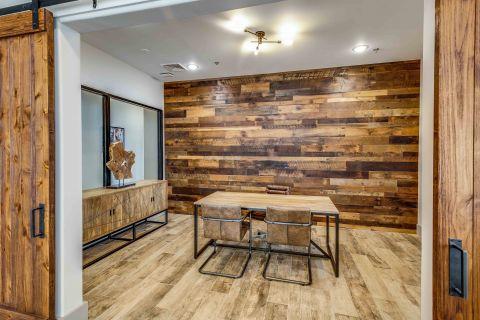 Private office space at Camden Lansdowne Apartments in Lansdowne, VA
