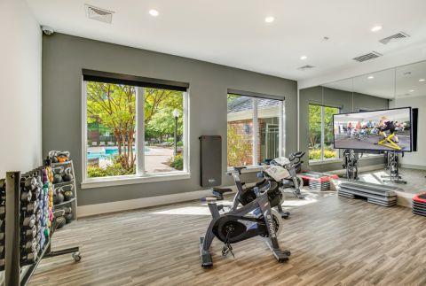 Brand New Spin and Yoga Studio at Camden Lansdowne Apartments in Lansdowne, VA