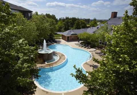 Pool at Camden Lansdowne Apartments in Lansdowne, VA