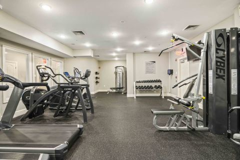 Fitness Center at Camden Largo Town Center Apartments in Largo, MD
