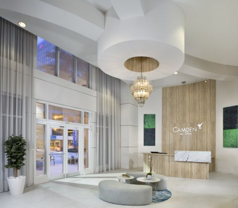 Concierge at Camden Las Olas Apartments in Fort Lauderdale, FL