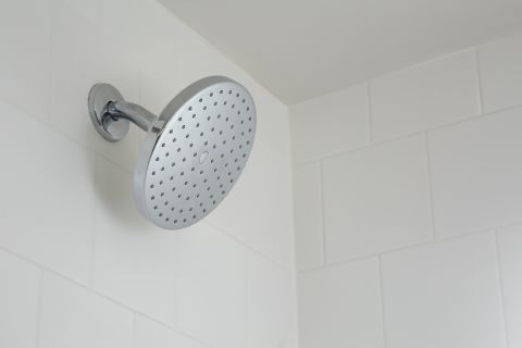 Shower Head at Camden Las Olas Apartments in Fort Lauderdale, FL