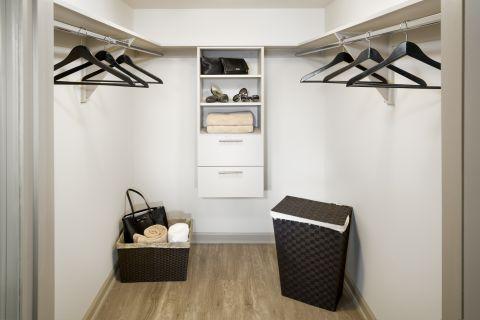 Closet at Camden Las Olas Apartments in Fort Lauderdale, FL