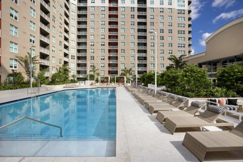 New Pool at Camden Las Olas Apartments in Fort Lauderdale, FL