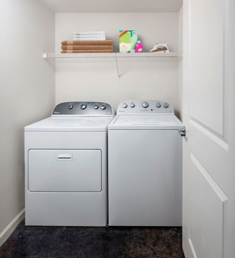 Washer and Dryer at Camden Las Olas Apartments in Fort Lauderdale Florida