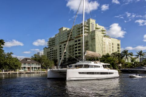 Riverwalk near Camden Las Olas Apartments in Fort Lauderdale Florida