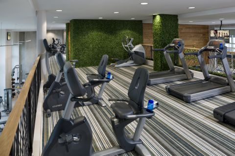 Gym at Camden Las Olas Apartments in Fort Lauderdale, FL