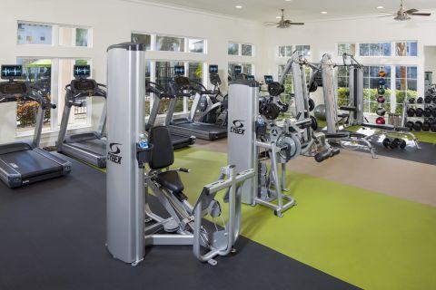 Fitness Center at Camden LaVina Apartments in Orlando, FL
