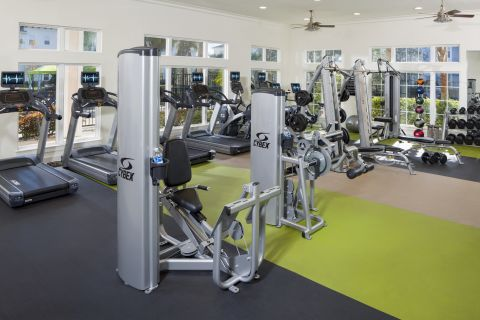 Fitness Center at Camden LaVina Apartments in Orlando, FL