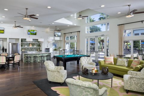 Resident Lounge at Camden LaVina Apartments in Orlando, FL