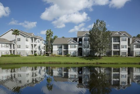 Pond View at Camden Lee Vista Apartments in Orlando, FL