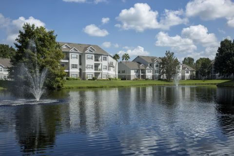Exteriors at Camden Lee Vista Apartments in Orlando, FL
