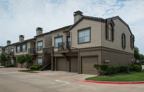 Attached Garages at Camden Legacy Park in Plano, TX
