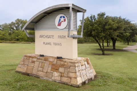 Archgate Park near Camden Legacy Park Apartments in Plano, TX