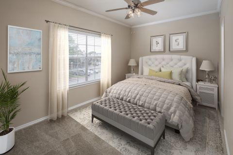 Spacious Bedroom at Camden Legacy Park Apartments in Plano, TX